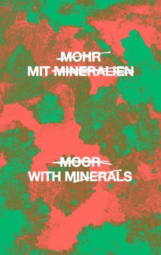 Mohr mit Mineralien